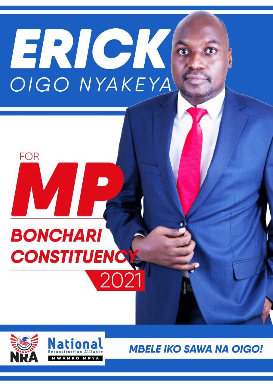 Oigo Nyakeya: NRA Party Fields First-Ever Candidate for Bonchari Constituency By-Election