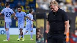 Under Fire Boss Ronaldo Koeman Blast Referee for Red Card as Barcelona Drop More Points