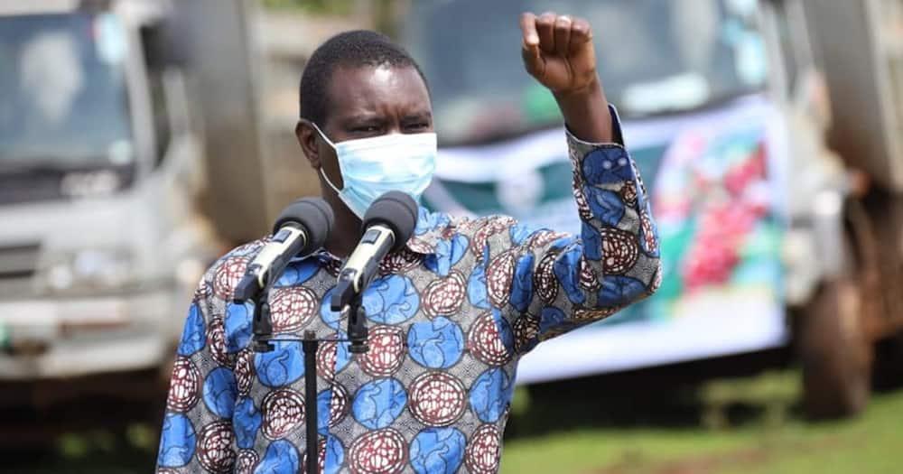 "Uasin Gishu Governor Jackson Mandago Says He Will Vie for Presidency in 2022: ""Mungu Atajibu"""