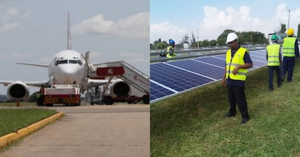 Kenya introduces solar system at airport to reduce on pollution, electricity bills