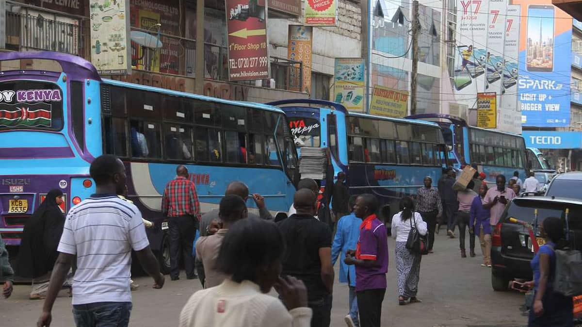 matatu routes in Nairobi, Nairobi matatu routes and numbers, Nairobi city matatu routes