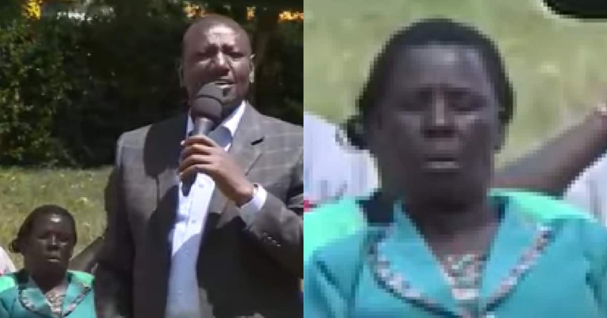 Sycophancy? Bomet woman caught on video dozing and clapping as Ruto lectures critics