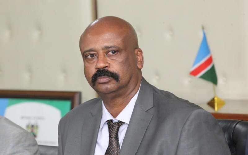 NMS Director-General Mohamed Badi. Photo: Nation.