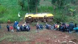 Kianjeru Primary School: Teacher Dies, 10 Pupils Injured after Bus Rolls