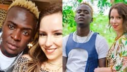 """Willy Paul claims he, mzungu girlfriend have welcomed a baby girl: """"I scored, welcome baby Sonya"""""""