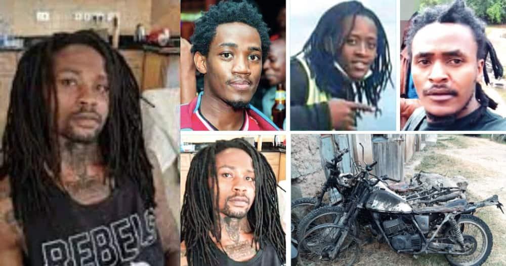 The four Kitengela cousins were murdered in a suspected revenge mission. Photo: UGC