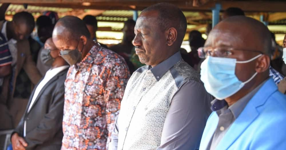 William Ruto asked politicians to look for the kingdom of God.