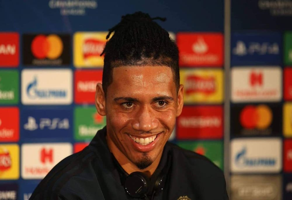 Manchester United's on loan defender Chris Smalling confirms Roma exit in heartbreaking post