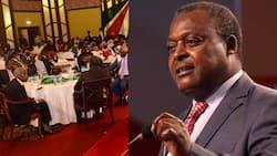 """""""Msitulee Preferred Candidate"""": Cyrus Jirongo Alivyowazomea Matajiri wa Mt Kenya"""
