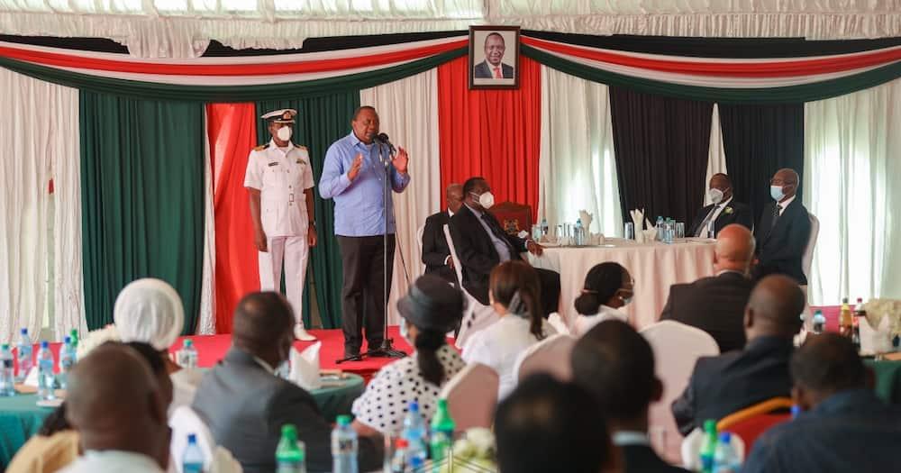 Rais Uhuru amtaka DP Ruto kumheshimu, asema anahofia makasiriko yanayoshuhudiwa
