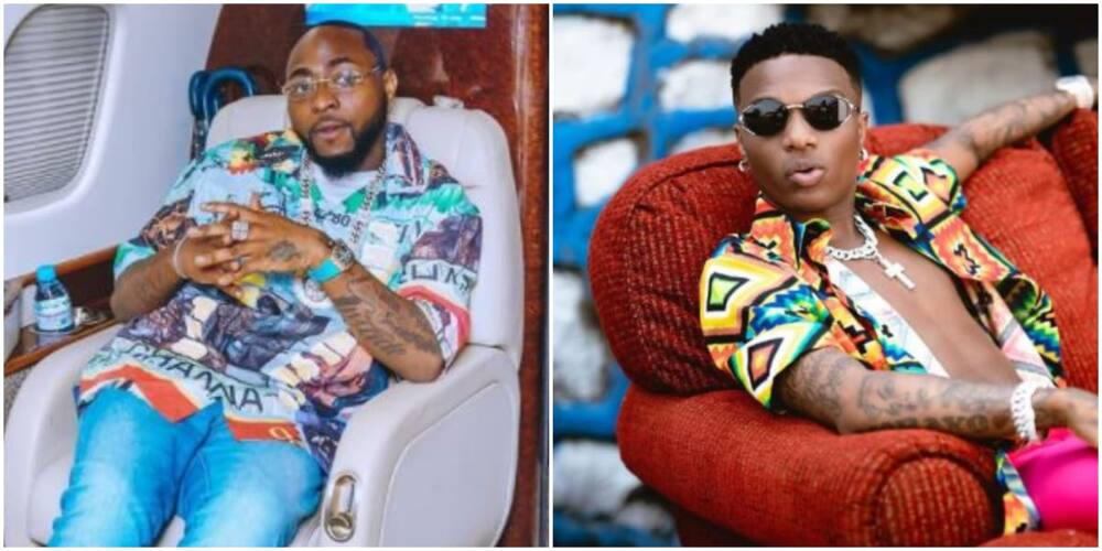 Davido Blames Fans for His Relationship with Wizkid, Says They Both Don't Have Issues