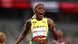Clean Sweep for Jamaica as Elaine Thompson Herah Defends Her Title with a New Olympic Record