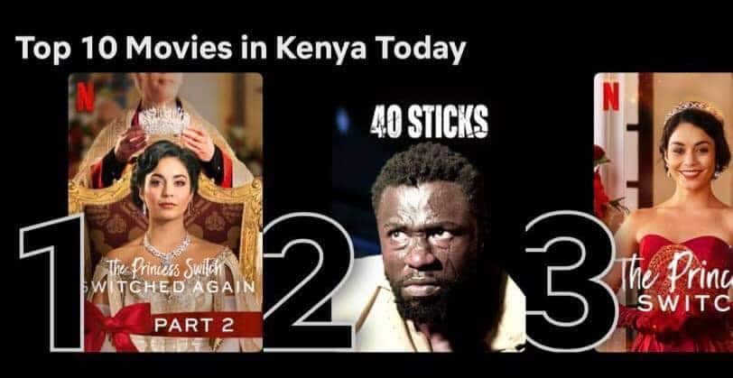 40 Sticks: Kenyans intrigued as thrilling, locally produced movie makes it to Netflix