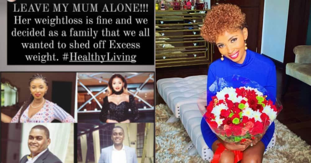 """Anerlisa Muigai defends mum's weight loss after viral court photo: """"Leave my mum alone"""""""