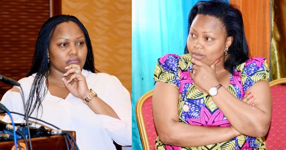 Millicent Omanga wondered whether Uhuru was a good 'student' as he claimed. Photo: UGC.