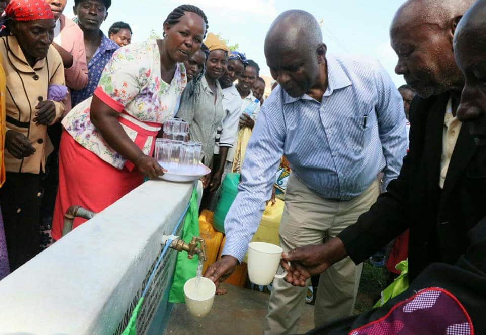 Makueni governor does it again, launches water project serving 7,000 residents