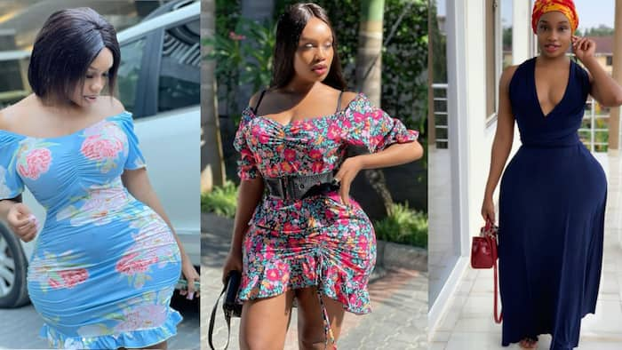 Nine Photos Showing Poshy Is East Africa's Queen of Curves