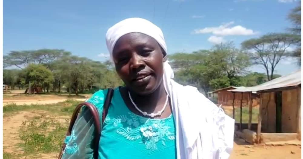 Elizabeth Nalem said God appeared to her when she was asleep and requested her to leave her husband. Photo: Nation