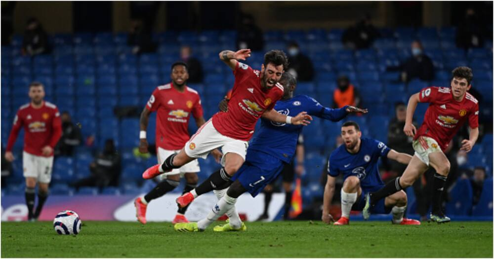 Chelsea vs Man United: Blues held at the Bridge to miss chance to go 4th