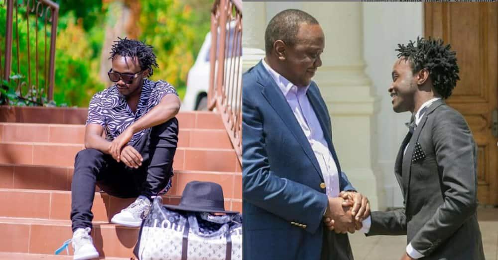 Gospel singer Bahati pleads with Uhuru to do away with curfew