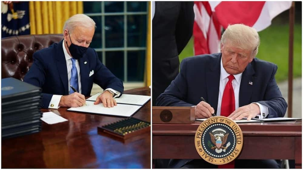 List of 17 executive orders Biden signed on day one as 46th US president