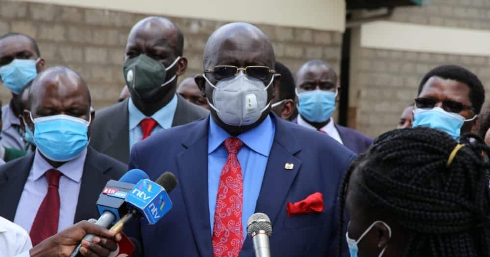This Man Doesn't Know English: Magoha Blasts Journalist Alleging 2021 was Notorious in Exam Irregularities