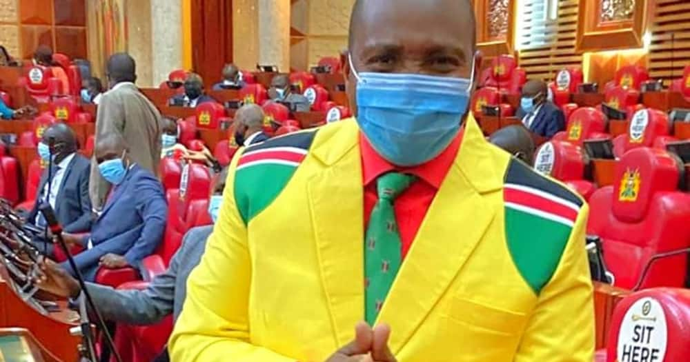 David Ole Sankok was nominated by the Jubilee Party in 2017.