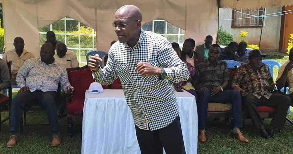 You were not elected to go and cry in parliament, Khalwale tells MP Nyikal