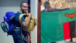 Kenyan Man Who Dropped Out of Secondary School Finds Passion in Travelling, Visits 31 Countries