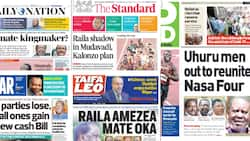 Kenyan Newspapers Review For August 2: Uhuru Tells OKA Chiefs to Unite With Raila if They Want to Enjoy State House Goodies in 2022