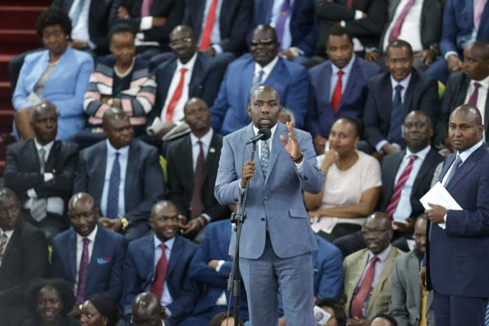 Kipchumba Murkomen says delegates who attended BBI launch received KSh 5k each