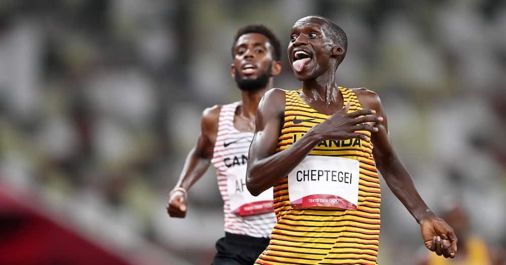 Cheptegei for Uganda.