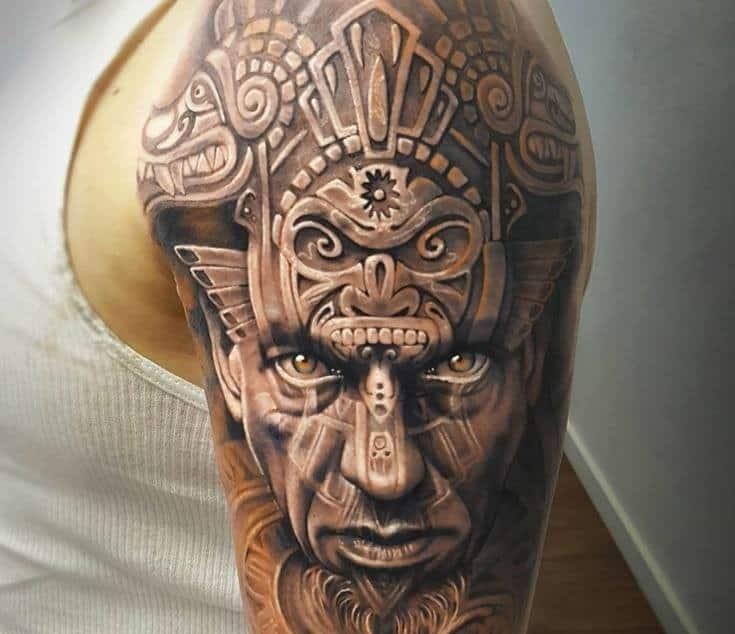 African warriors tattoo