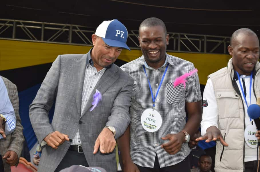 ODM leaders woo Peter Kenneth to join forces with Raila ahead of 2022