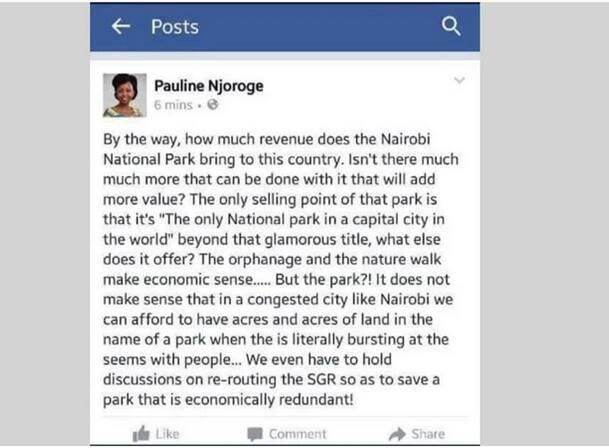 Uteuzi wa bloga Pauline Njoroge kwenye bodi ya Utalii wabatilishwa