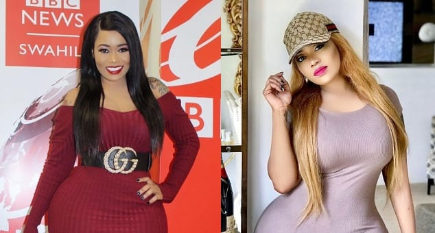 Vera Sidika brags about hanging out with Drake, Chris Brown and Tyga while in the US