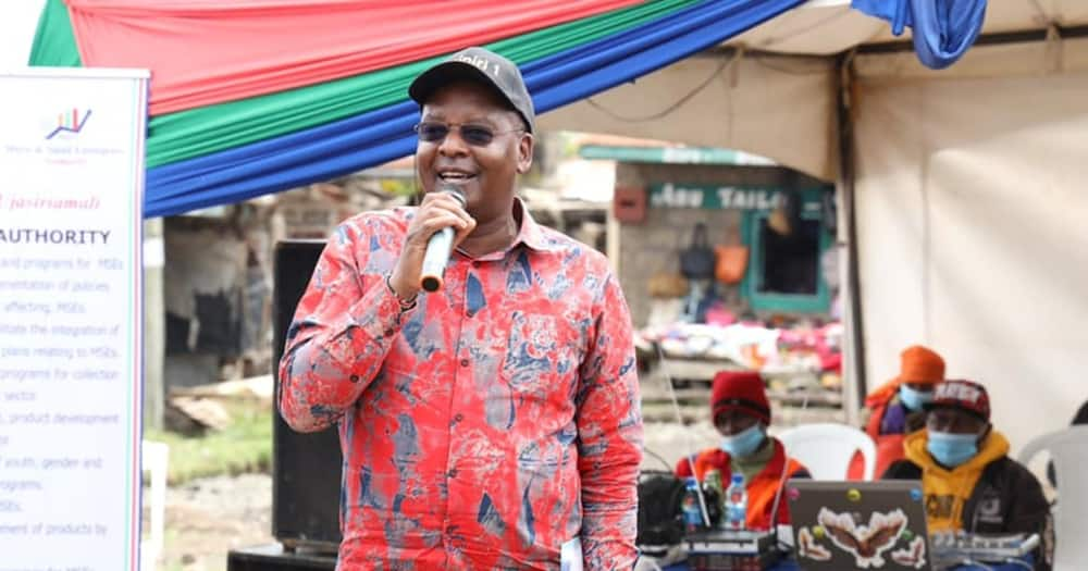 Kipipiri MP Amos Kimunya. Photo: Amos Kimunya.