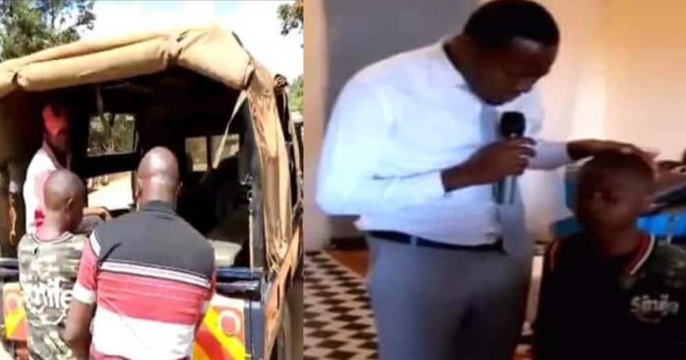 Kisanga kanisani baada ya polisi kutibua ibada wakisaka mshukiwa