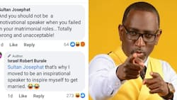 Robert Burale Says He Became Motivational Speaker to Inspire Himself to Marry