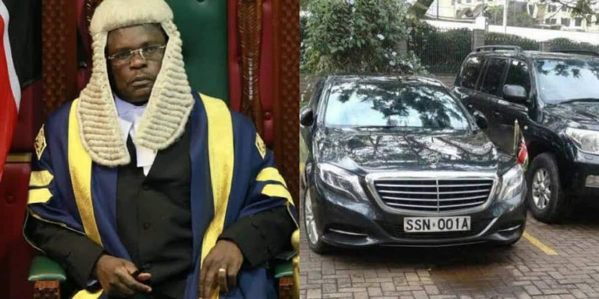 Gari la Spika Kenneth Lusaka lazuiwa kutokana na deni la KSh 7 milioni ▷ Kenya News