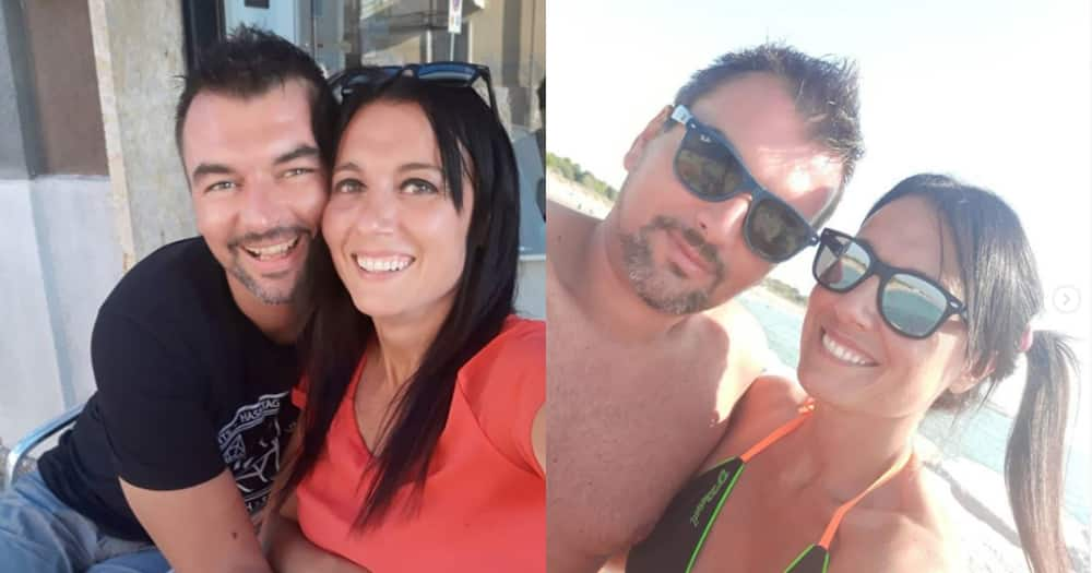 Couple who met while relaxing on balconies set to walk down the aisle