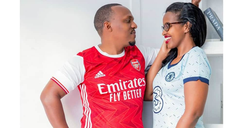 Amina Mude shares lovely TBT photo with hubby Ben Kitili: 'This was one beautiful day'