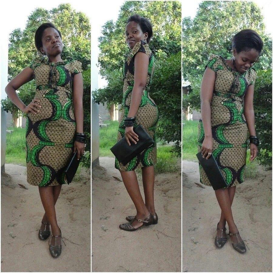Latest kitenge dress designs for short dresses