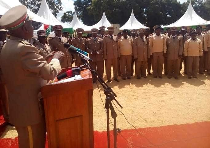 Embu: Passionate county commissioner lectures lazy chiefs in public