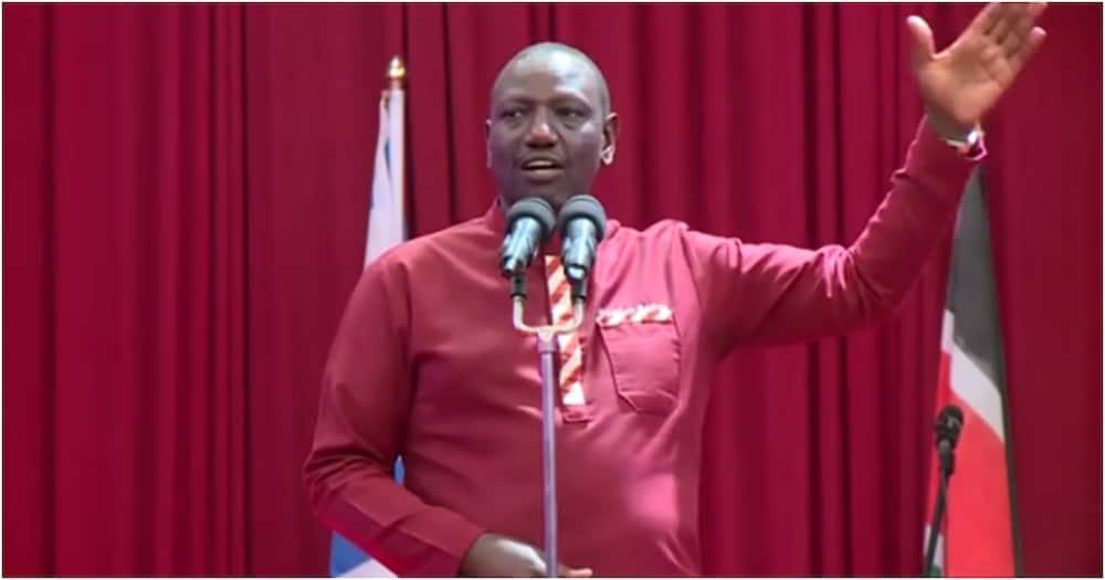 Deputy President William Ruto in a past address. Photo: William Ruto.