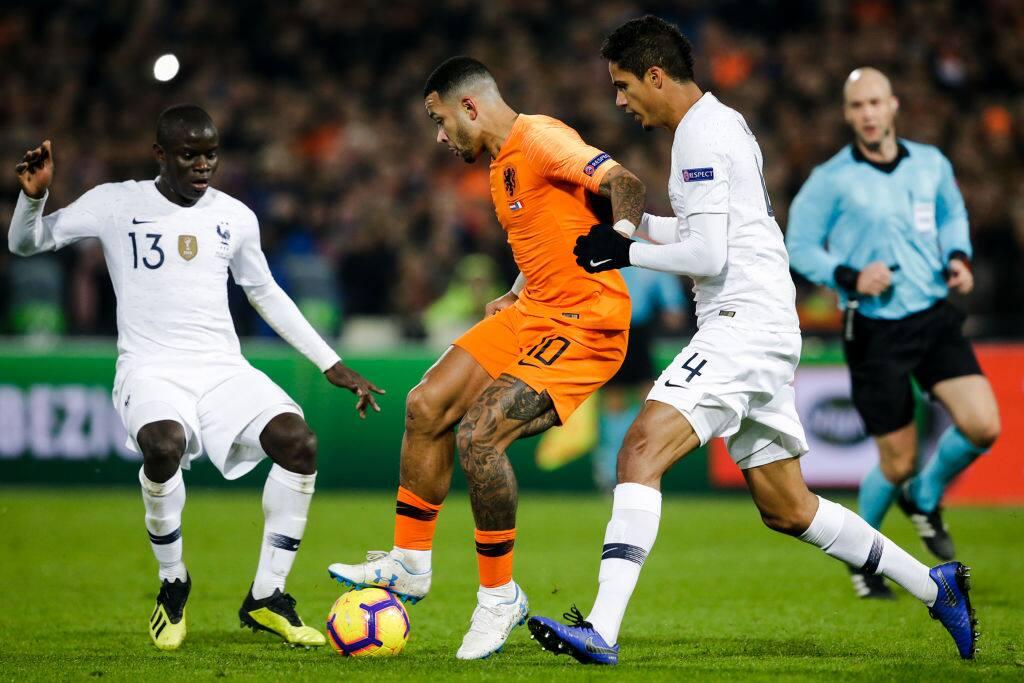 Netherlands 2-0 victory over World Champions France hands Germany relegation