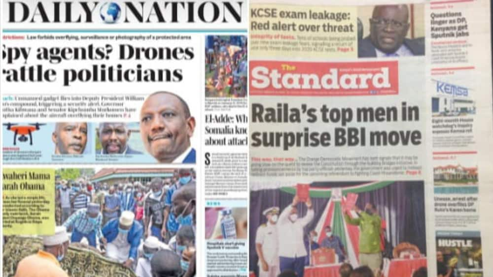 Kenyan Newspaper Review for March 31: ODM Goes Slow on BBI Move