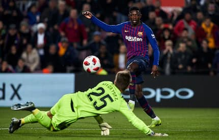 Dembele nets brace as Barcelona progress to the next round of Copa del Rey