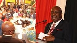 """""""Nikishika Kichwa Mtavumilia Mateke?"""" Gideon Moi Azua Kicheko Wakati wa Kikao na Matajiri"""
