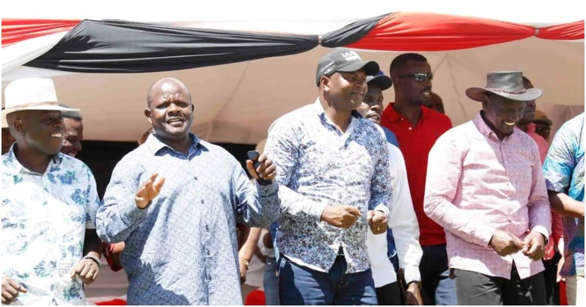 20 MPs commit to support William Ruto's 2022 presidential bid